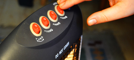 User interaction with heating controls